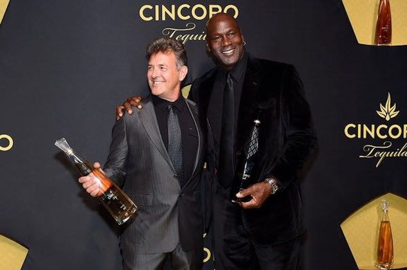 Michael Jordan at Cincoro Event at Catch Steak in NYC!